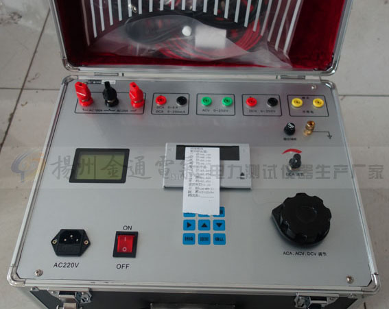 继电保护测试仪的异常现象